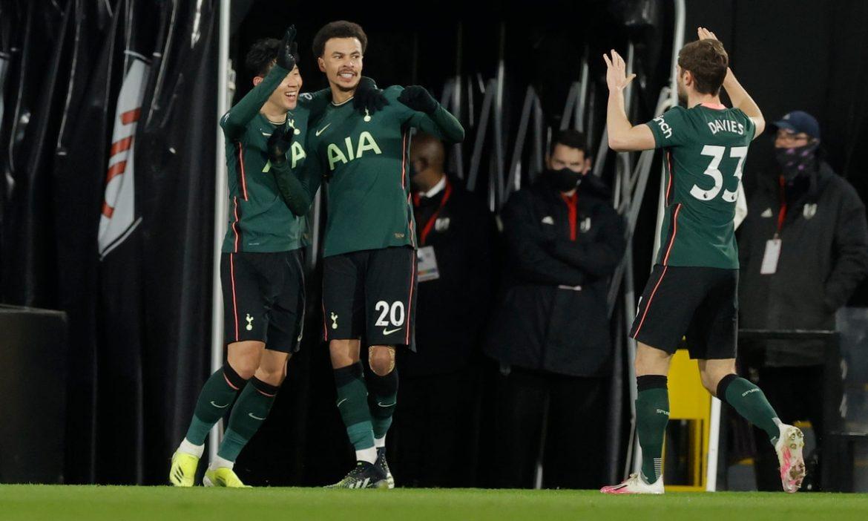 Tottenham menang berkat tendangan balik