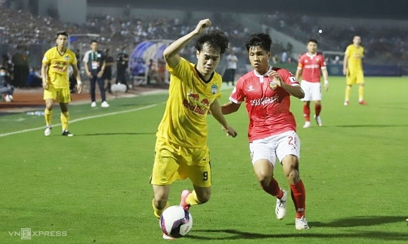 Live football V-League hari ini 20 Maret: Ha Tinh