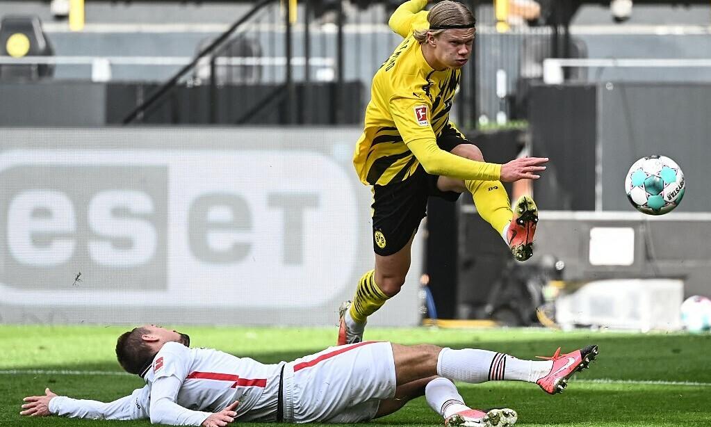 Mino Raiola: 'Membiarkan Haaland ke Dortmund terlalu berhati-hati'