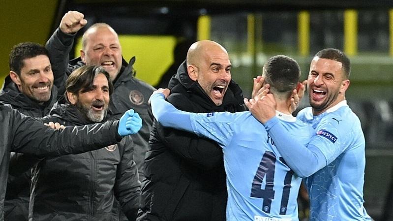 Guardiola: 'Man City sedang menulis sejarah'