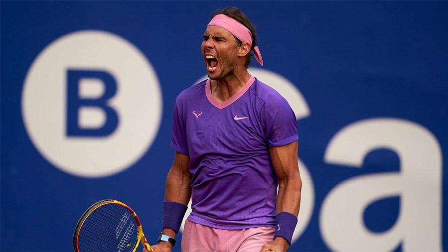 Nadal mengungguli Djokovic, Federer di lapangan tanah liat