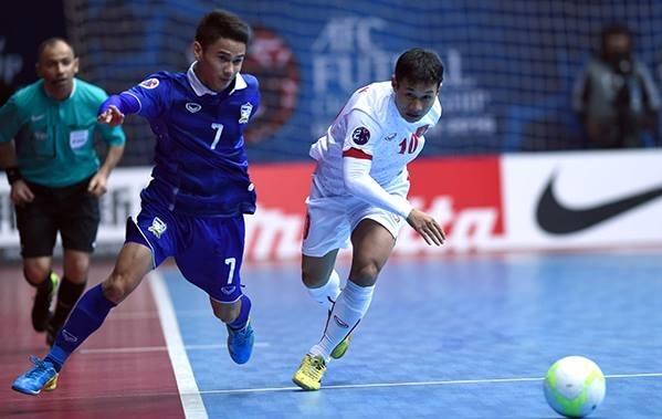 Vietnam bisa bermain play-off dengan Thailand untuk mencapai Piala Dunia futsal