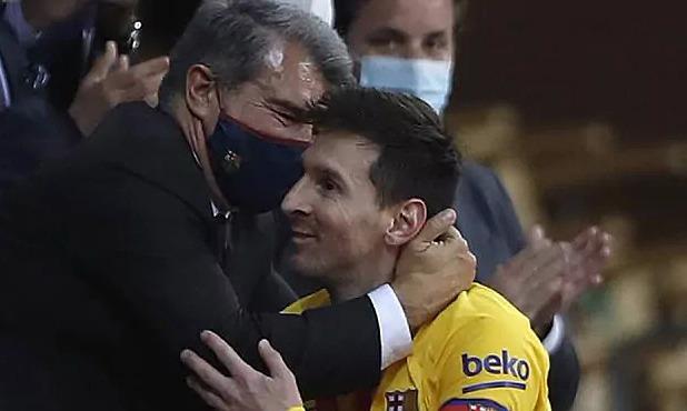 Surat kabar Spanyol: 'Messi menyerah pada gagasan meninggalkan Barca'