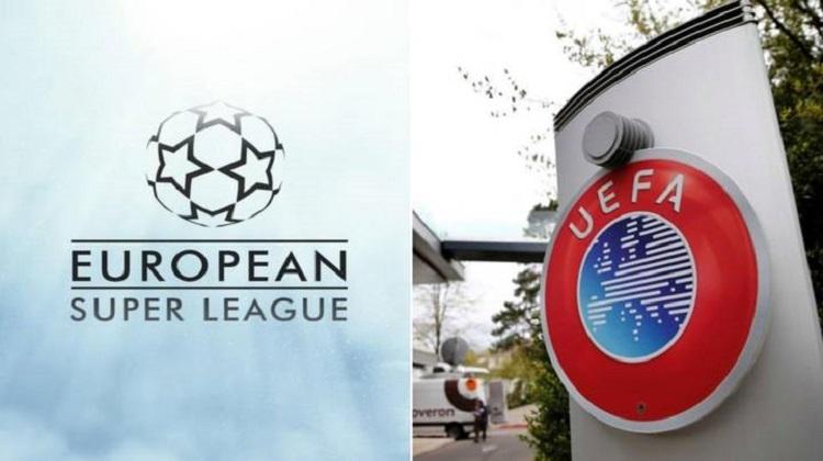 UEFA mengancam akan menghukum klub yang berpartisipasi di Liga Super