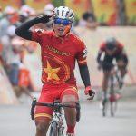 Leg pertama dari Tur Angkatan Darat dalam turnamen sepeda ke-13 melalui Vietnam
