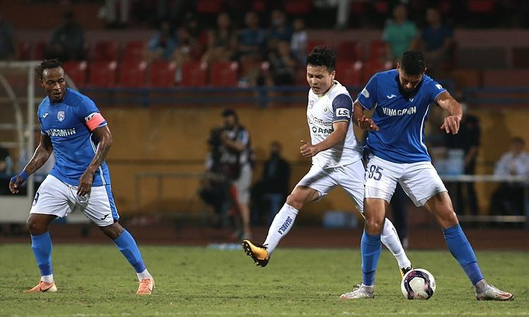 Pelatih Quang Ninh: 'Pemain saya roboh terlalu cepat'