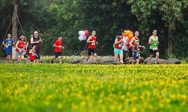 Ecopark Marathon dimulai