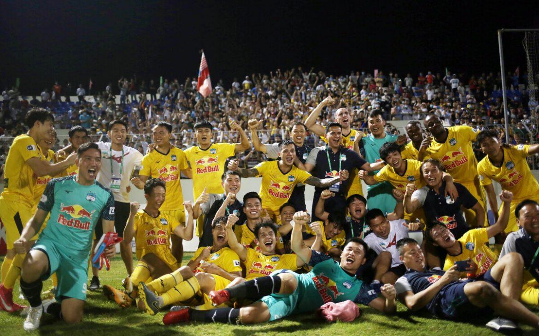 HAGL senang menjadi juara setelah pertandingan Da Nang