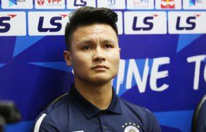 Quang Hai: 'Sembilan poin di belakang HAGL tidaklah bagus'