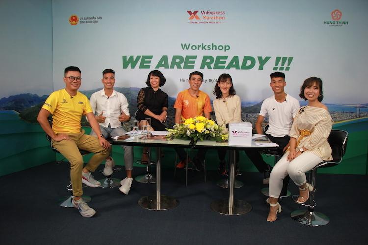 Turnamen lari 'Quy Nhon selalu meningkat untuk menarik pelari'