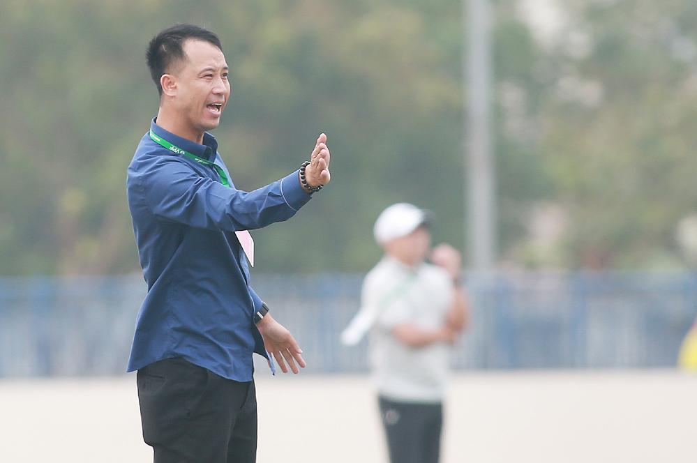 Vu Nhu Thanh mendapatkan poin pertama sebagai pelatih