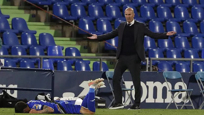 Zidane: 'Menyerah adalah kegagalan'