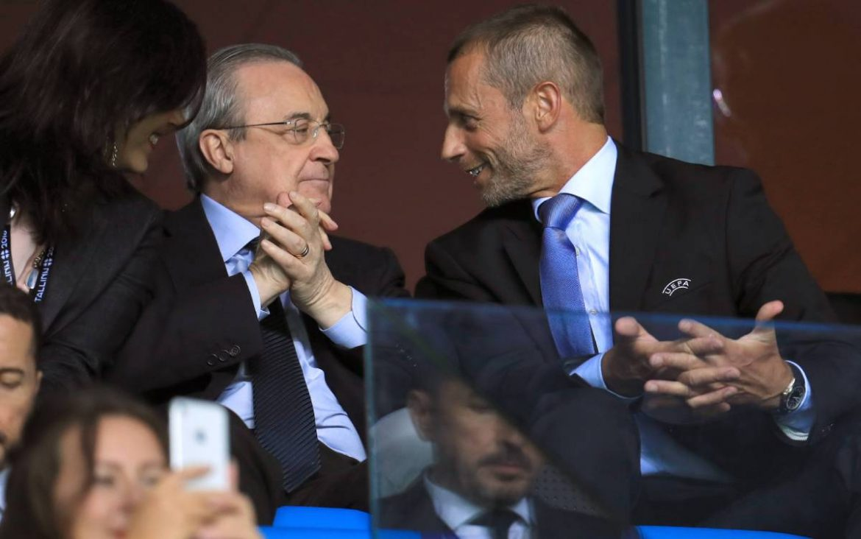Presiden UEFA: 'Perez ingin saya mematuhi perintahnya'