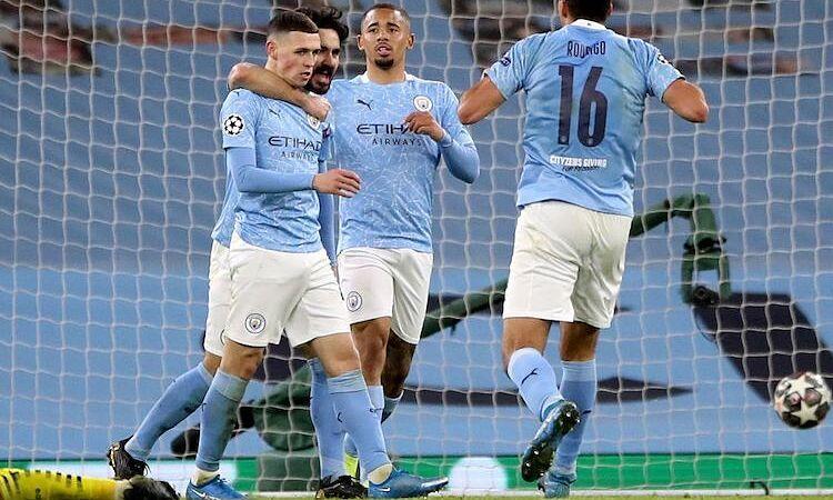 Man City mengalahkan Dortmund berkat tabel menit ke-90