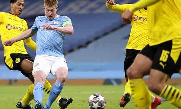 De Bruyne menyesal hanya menang di Dortmund
