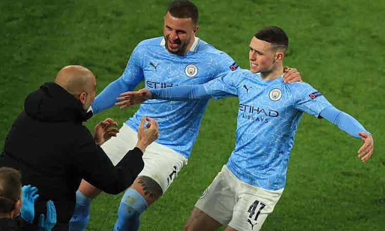 Man City di semifinal Liga Champions