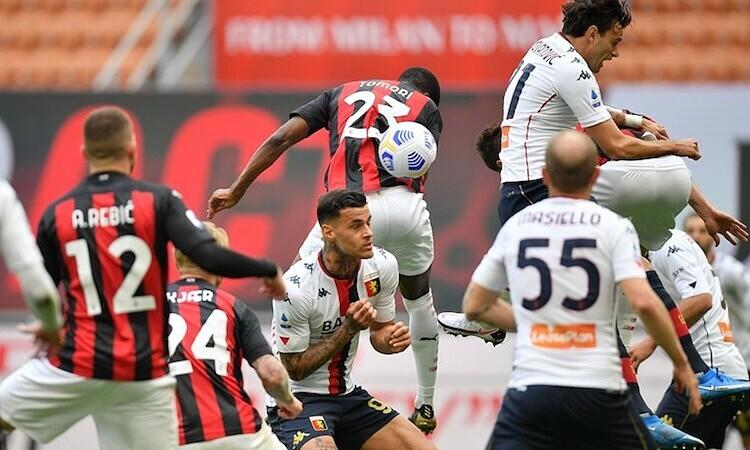 Milan menang dengan gol bunuh diri
