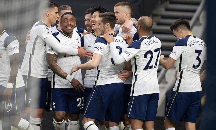 Tottenham memenangkan pertandingan pertama setelah berpisah dengan Mourinho
