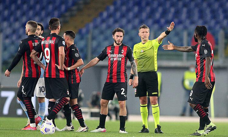 Milan tersingkir dari empat besar setelah kekalahan itu