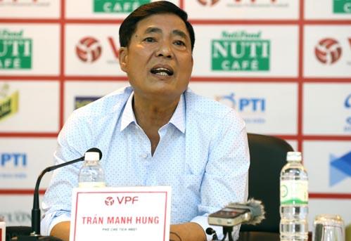 Klub Hai Phong menggantikan Ketua