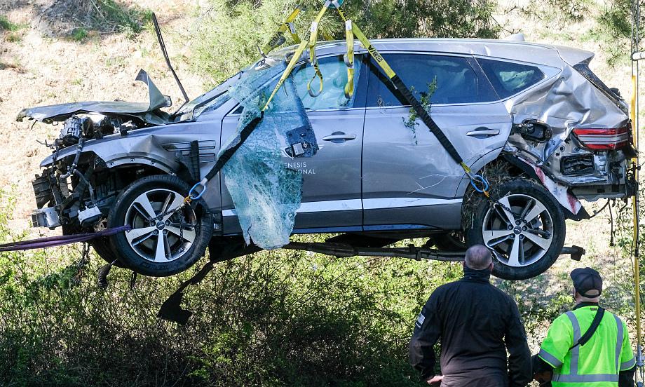 Polisi merahasiakan penyebab kecelakaan Tiger Woods