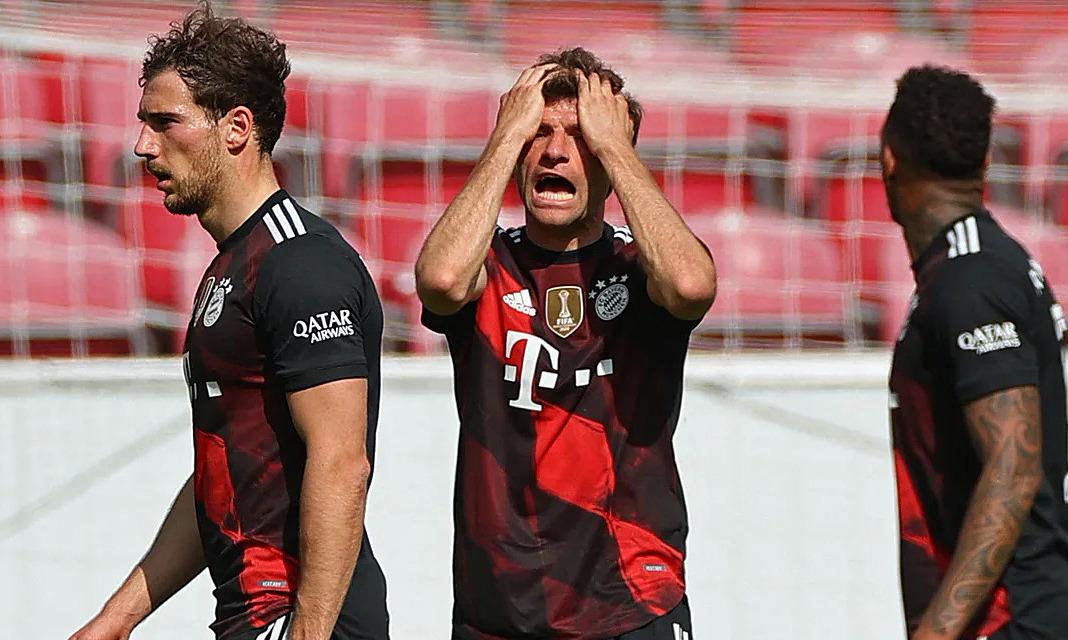 Bayern melewatkan kesempatan untuk memenangkan Bundesliga lebih awal