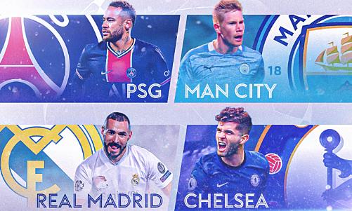 PSG – Man City: Pasangan ini belum pernah memenangkan Liga Champions