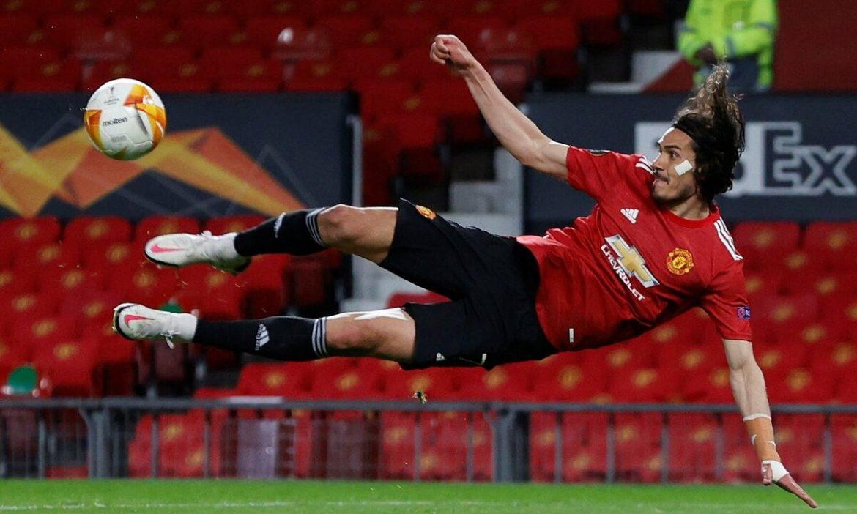 Cavani setuju untuk tetap di Man Utd