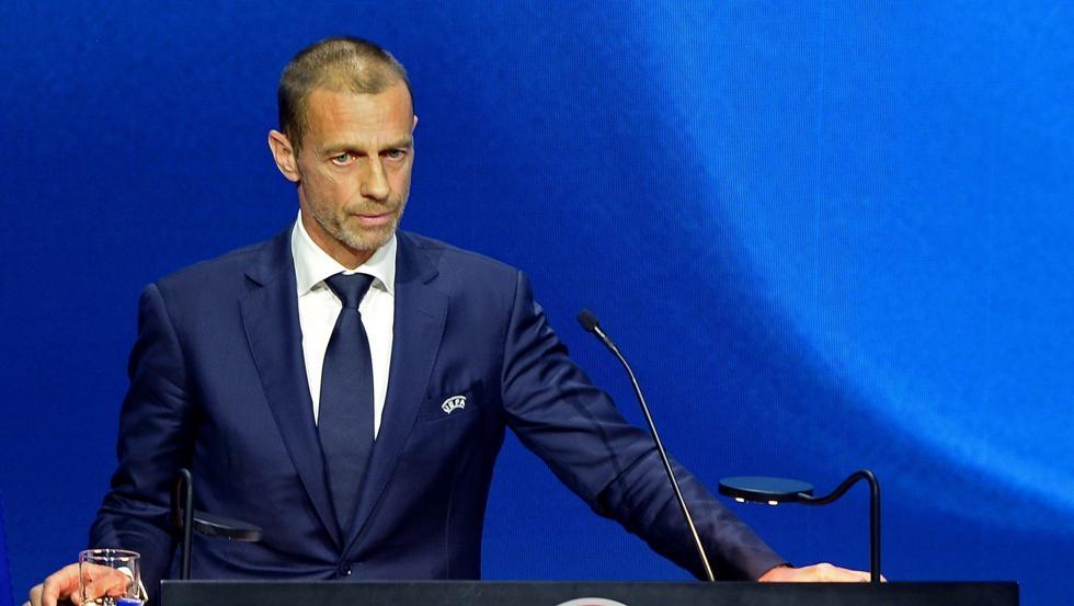 Presiden UEFA mengancam akan menyingkirkan Barca dan Real dari Liga Champions