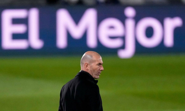 Zidane menurunkan pasukannya ke Liga Champions