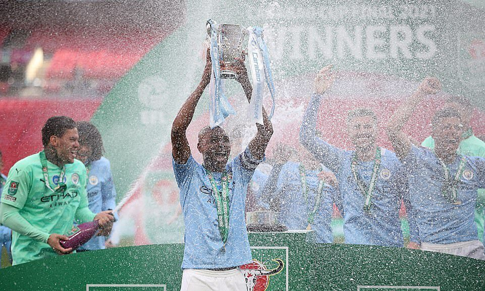Direct Man City vs Tottenham: Laporte membuka skor