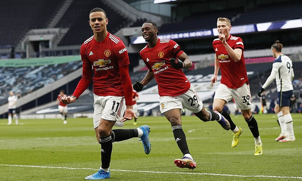 Man Utd menang melawan Tottenham