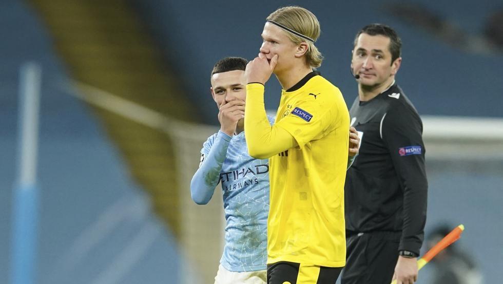 Dortmund bertujuan untuk membeli putra Henrik Larsson, bukan Haaland