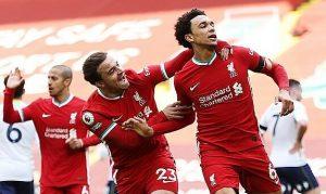 Liverpool memenangkan pertandingan pertama mereka di Anfield
