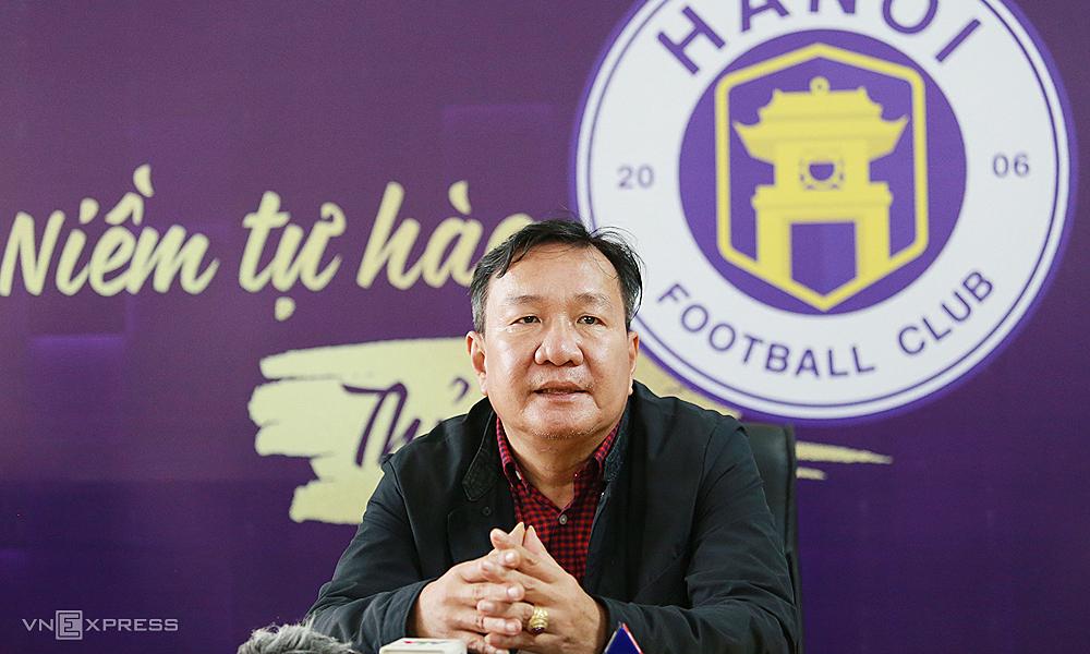 Pelatih baru Hanoi berharap bisa membalikkan V-League 2021
