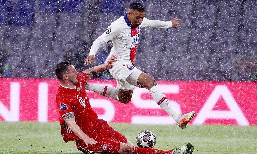 Bagaimana Mbappe mendobrak pertahanan Bayern