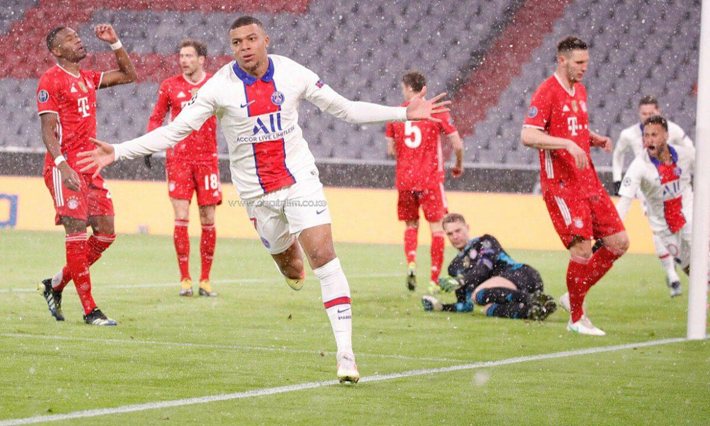 Mbappe membantu PSG mengalahkan Bayern