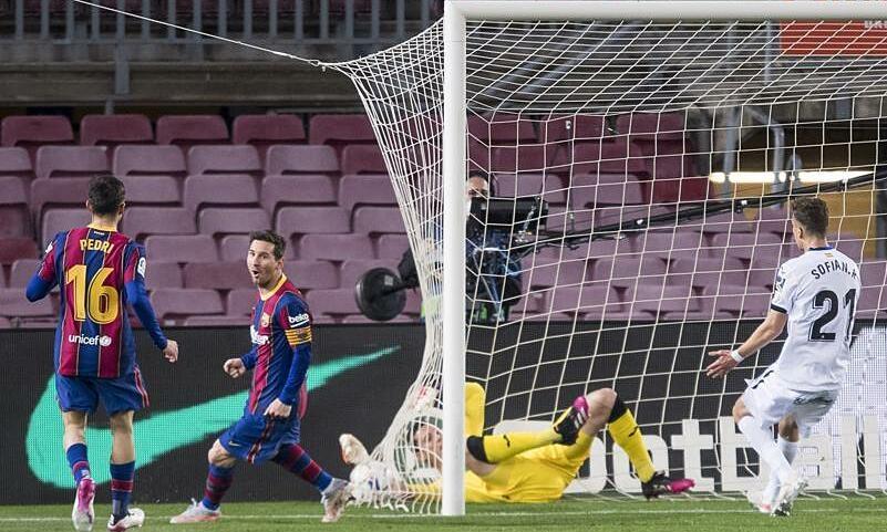 Messi mencetak 22 gol dalam 4 bulan