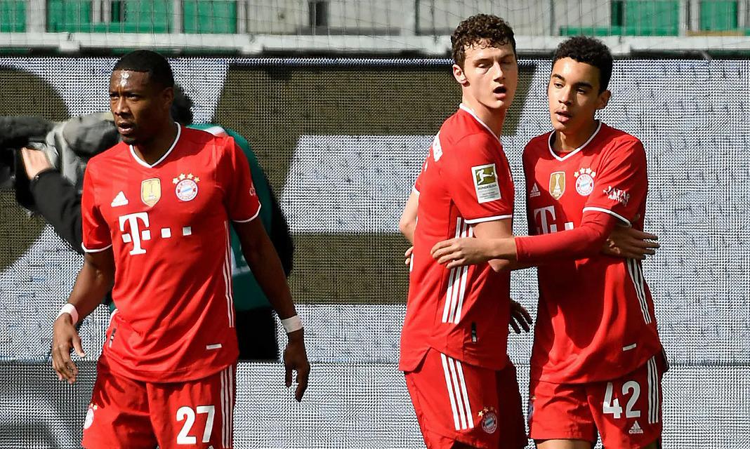 Bayern membuat selisih tujuh poin dengan Leipzig