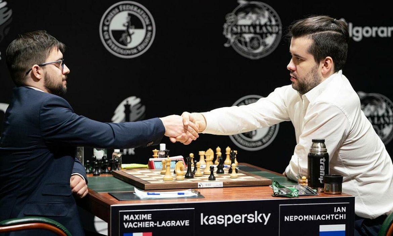 Turnamen catur kandidat kembali pada 19 April