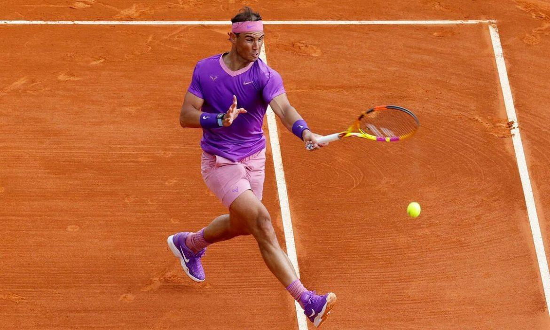 Butuh waktu 55 menit bagi Nadal untuk mencapai perempat final di Monte Carlo