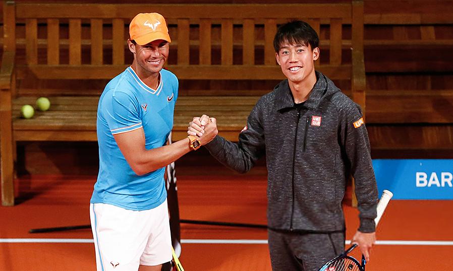 Kesempatan bagi Nadal untuk memperpanjang rekor kemenangan melawan Nishikori