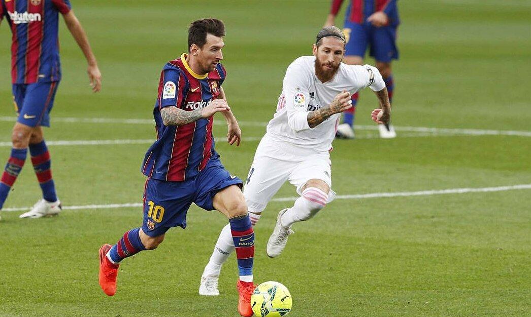 Ramos: 'Sakit nyata karena Messi'