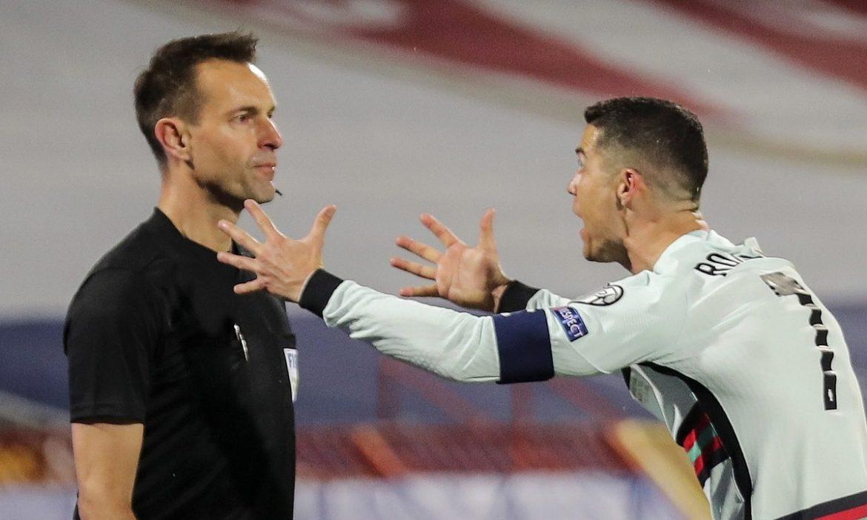 Wasit menolak tabel Ronaldo untuk tersingkir dari Euro 2021