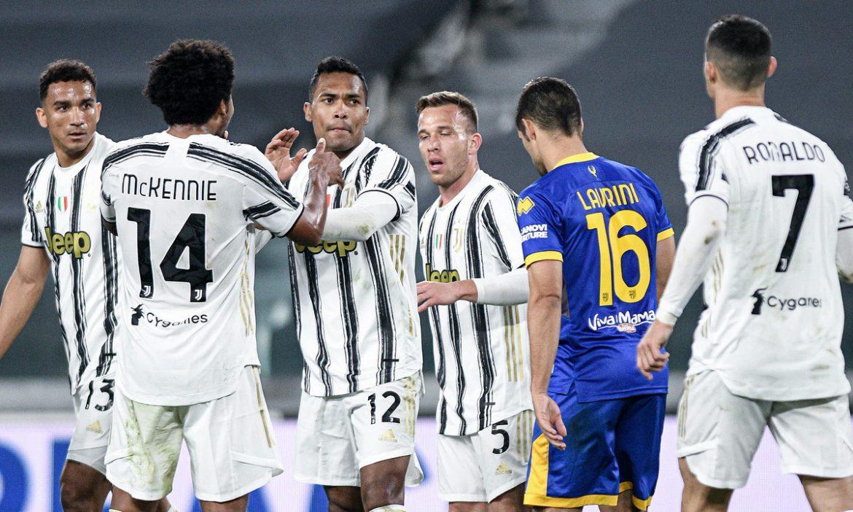 Pertahanan tersebut membawa Juventus ke posisi 3 besar Serie A.