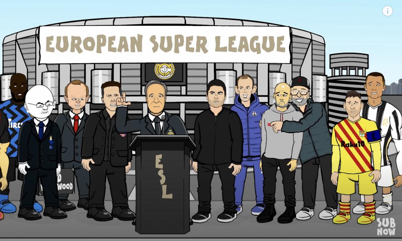 Bagaimana reaksi Messi dan Ronaldo terhadap Liga Super?