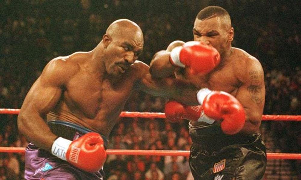 Holyfield tidak melawan Mike Tyson ketika dia kembali