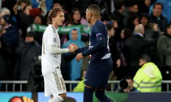 Modric mengundang Mbappe ke Real