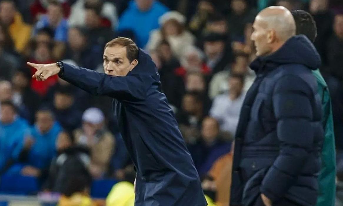 Tuchel adalah rekan Zidane