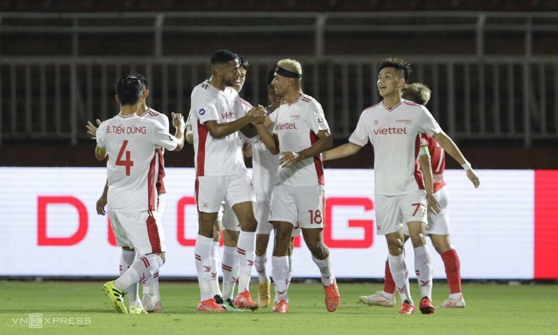 Live Ho Chi Minh City 1-1 Viettel (babak ke-2): Rookie menyamakan kedudukan